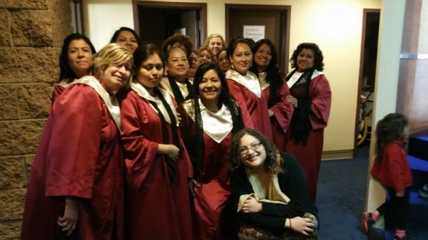 Some of my Choir members!
