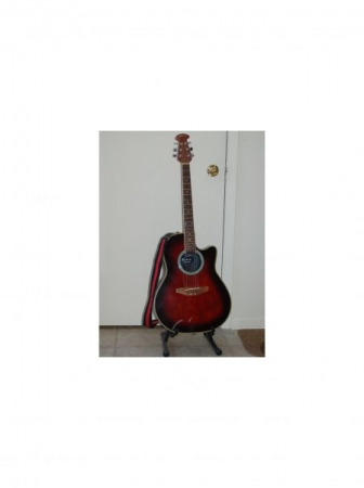 Ovation Applause bowl back electro acoustic