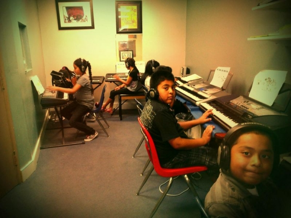 A Place Called Home, group keyboard class