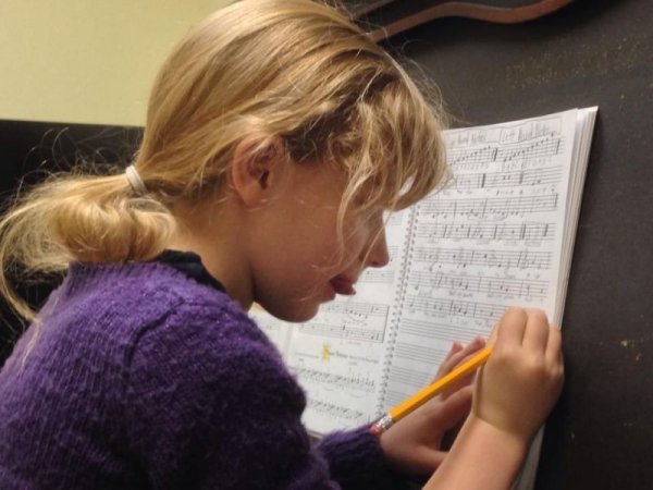 Music Theory time. 8 year old student.