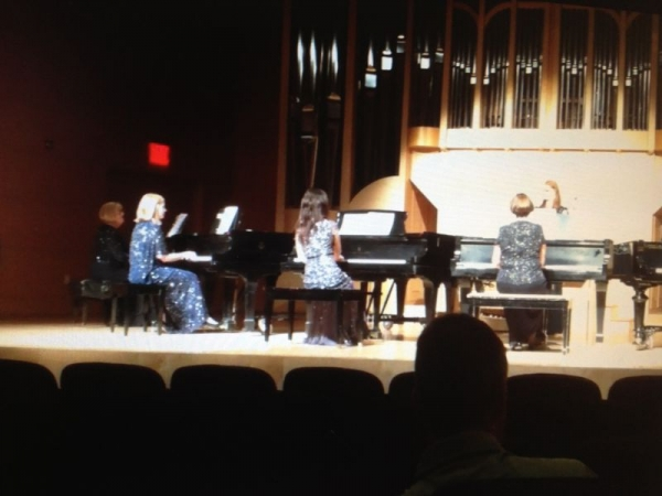 5 pianos - Ensemble Festival