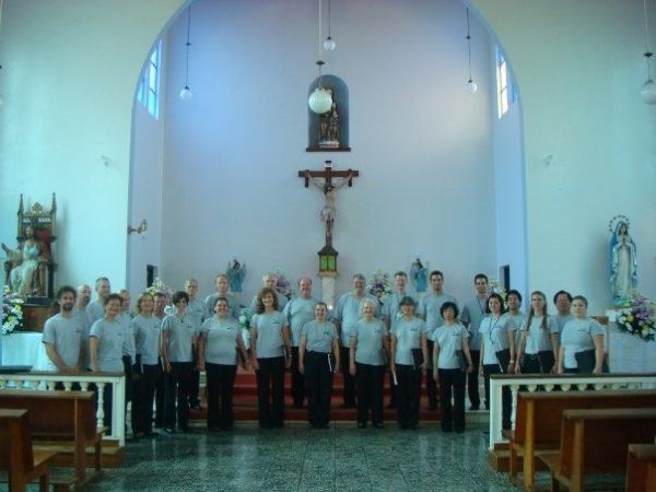 one of many choral tours, this one in costa rica