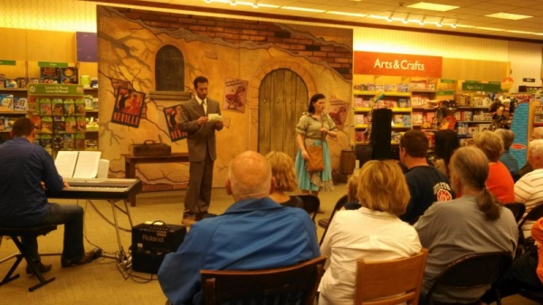 "Performing Micaela in ""Carmen"" with the outreach program of Opera Colorado."