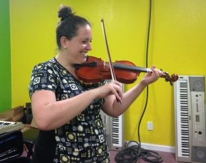 Adult students find violin is rewarding hobby