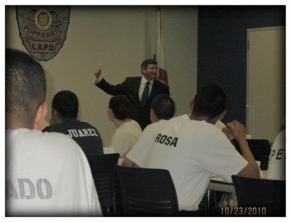 "Training LAPD Recruits ""Become a better Listener"""
