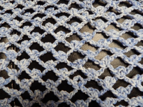 """Light"" Wrap (Crochet) Chain, Picot Stitch"