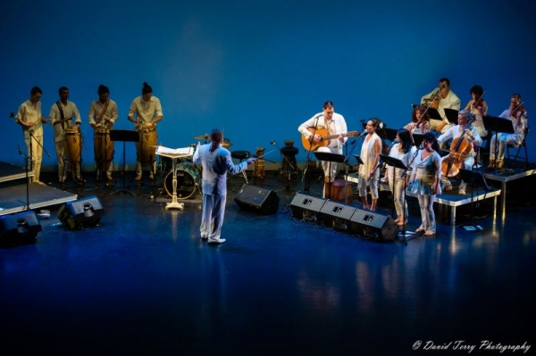 Collaborating with Salt Lake City's Samba Fogo - Caitlin combines her love of Afro-Brazilian drumming and dance with her first love, cello.