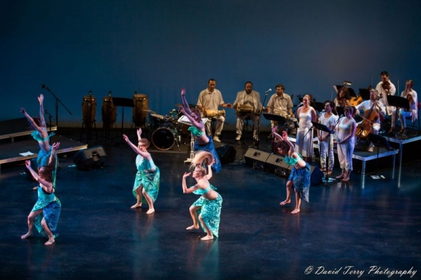 Collaboration with dancers is such a thrill! Dancers and musicians feed off one another to create such beautiful moments.