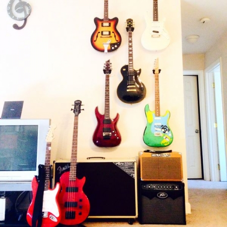Wall of Guitars!
