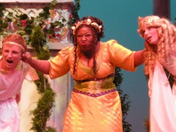 Kiki as Lycus in A Funny Thing Happened on the Way to the Forum