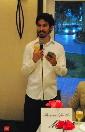 Speech at my best friend's wedding.