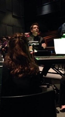 "Conducting the pit orchestra for ""Legally Blonde: The Musical"" at Canisius College!"