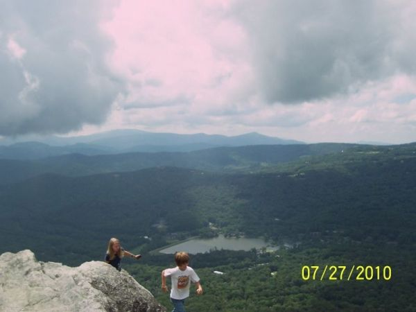 On Top of Grandfather Mountain
