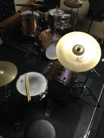 Two professional level drum kits, for hands-on learning!