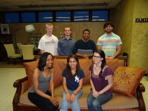 Group of engineering students  I tutored in college.