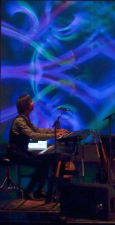 Live performance with MainStage software and two controllers