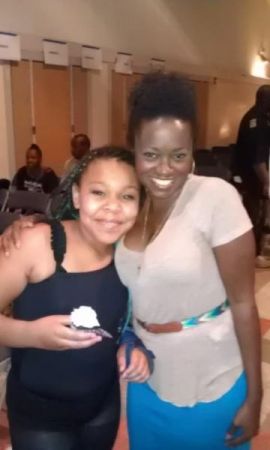 private student who booked production of The Color Purple and got accepted into performing arts middle school milikan