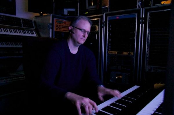 Playing one of my favorite synthesizers/master controllers of all time:  the Kurzweil K-2500XS with all upgrades.