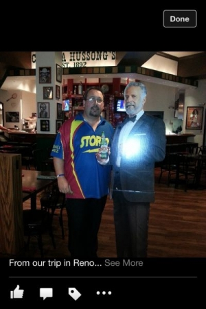 The most interesting man in the world...with the XX guy   ;)    In Reno, just finished competing in my 10th National Championship Tourney