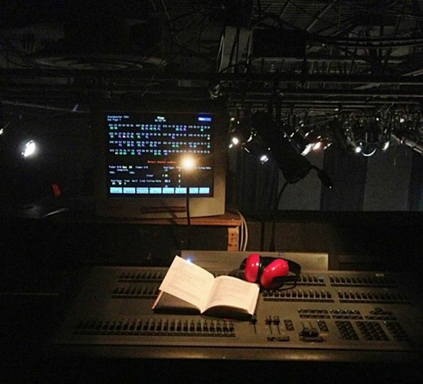 Experience in directing, lighting, and sound in the theatre!