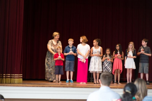 Award Ceremony Spring Piano Recital 2014