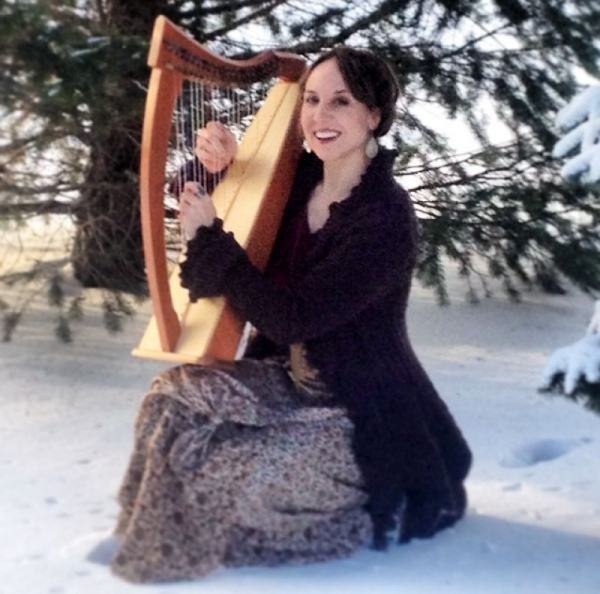 Photo shoot in the snow. Brrr!