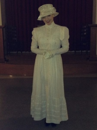 Appearing as Rose in the musical, The Secret Garden, at DC's Theatre Lab, Spring 2015
