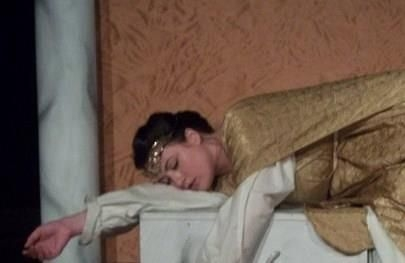 As Dido in Purcell's Dido and Aeneas