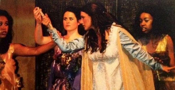 As Pamina in Mozart's The Magic Flute