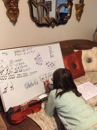 Theory lesson: Key Signatures, Note Values, Subdividing, Rhythm!