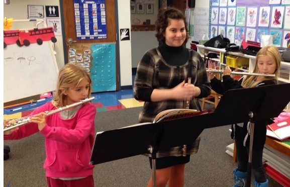 And thank you to North Park Elementary School for having me lead flute sectionals!
