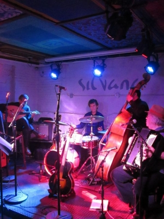 With Velvet Jubilee at Silvana, New York, April 2015