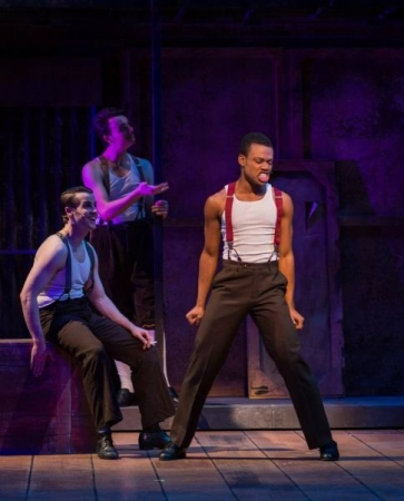"Pro Student Justin Sams in ""Kiss Me Kate"" at Arizona Broadway Theater"