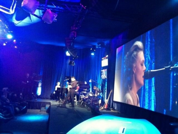 Pro student Sarah Thiele performing at the NAB show LV 2014