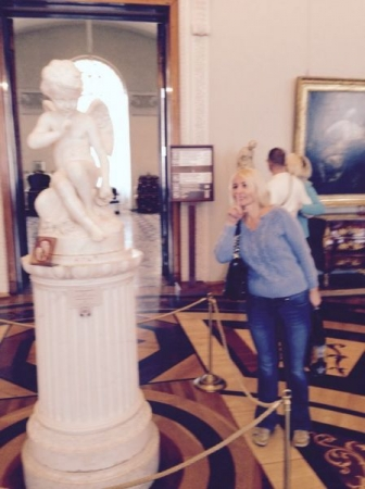 At the Hermitage, St.Petersburg, Russia