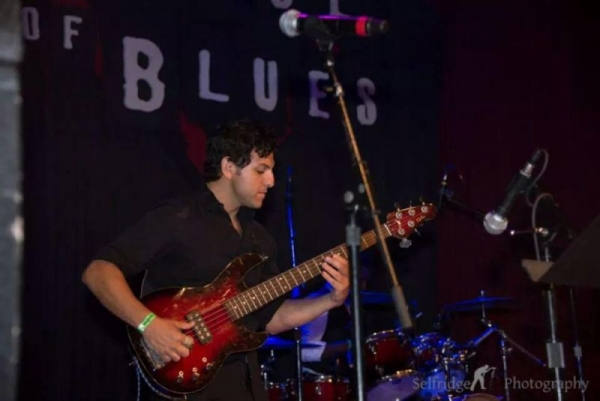 On stage at the house of blues san diego with #lyricalgroove