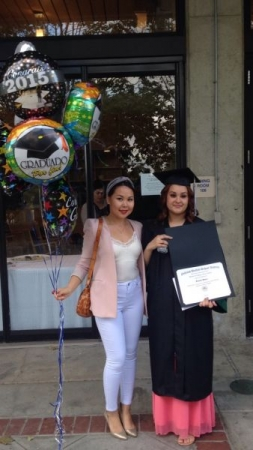 I have coached her for 2 semesters and successfully graduated her High School. Thumbs up!
