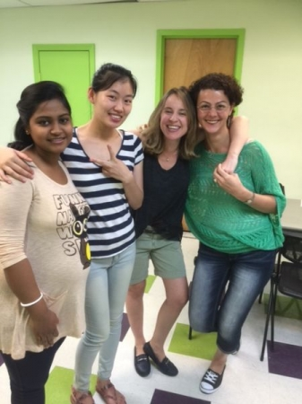 High- Intermediate ESL class