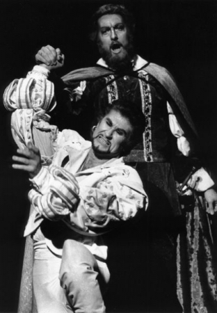 "Sherrill Milnes and Gregory S. in Pittsburgh Opera's ""Don Giovanni"""