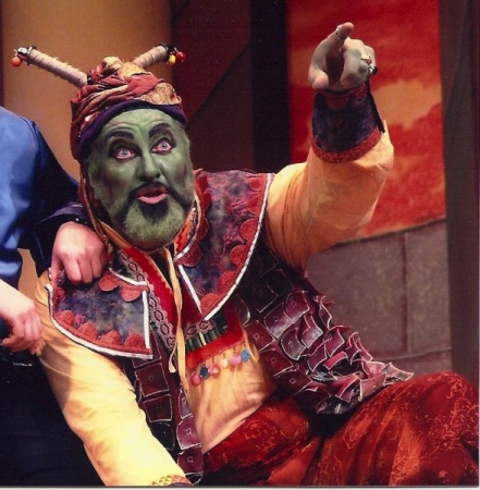 """Gregory S. as Osmin in Lyric Opera of Cleveland's """"Escape from Mars"""" [Abduction from the Seraglio]"""