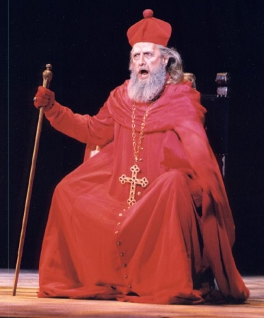 "Gregory S. as the Grand Inquisitor in New Orleans Opera's ""Don Carlo"""