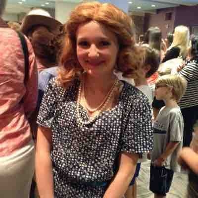 "Student Ansley, performing in the musical ""Crazy For You"" at The Orlando Repertory Theatre in Orlando."