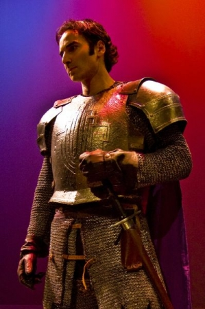 "As Lancelot in the Broadway National Tour of ""Camelot"""