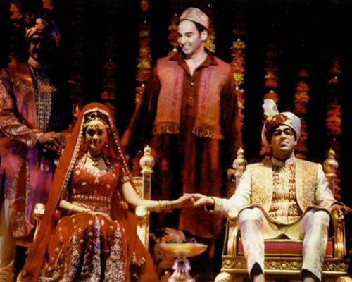 """As Akmed in the original Broadway cast of """"Bombay Dreams"""""""