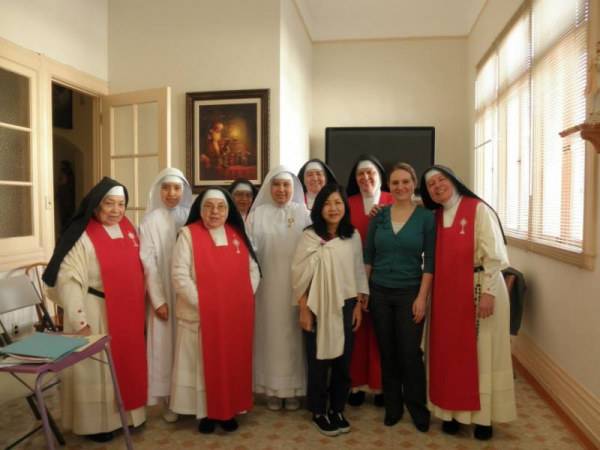 Monastery of Perpetual Adoration Choir, Spring 2015 Recital