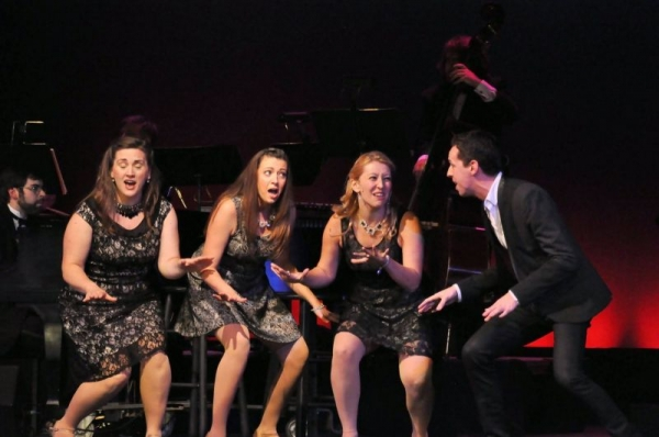 "Lori and cast perform in Reagle Music Theatre's ""A Grand Night for Singing"""