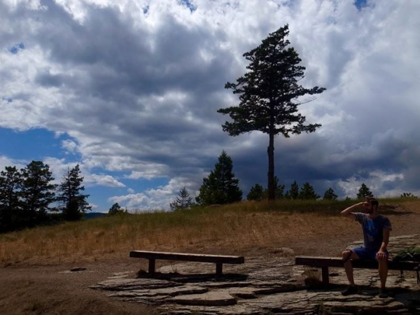 Lone Pine State Park in Kalispell, Montana.