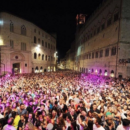 Umbria Jazz Festival Crowd
