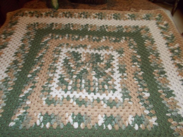 Triple Crochet Square