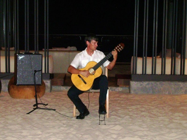 I perform weekly at the Andaz Hyatt Regency on Maui. Such a beautiful resort!